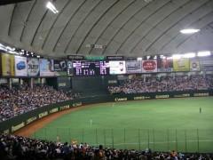 15 Baseball at Tokyo Dome City