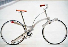 これが折りたたみ自転車!?(ニュースサイトより引用)