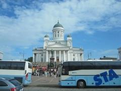 ヘルシンキ大聖堂が見えてくるとゴールはあとちょっと