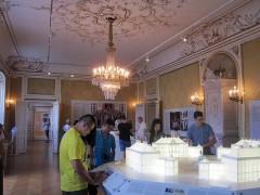 アマリエンボー宮殿の模型