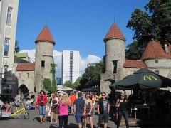 旧市街と新市街の境界、ヴィル門