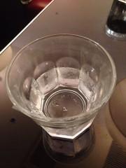 久しぶりの美味しくない水