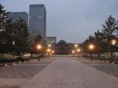 東京駅午前5時20分