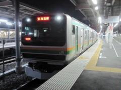 東海道本線 普通小田原行き 725M (JR東日本 E231系)