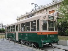 旧京都市電の車両