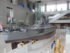 戦艦大和10分の1模型