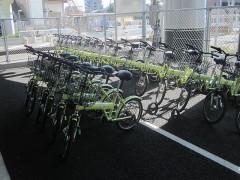 こんな自転車を借りる