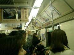 網棚のない札幌市営地下鉄