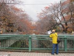 神田川を渡って…