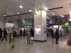 騒動前日の東京駅…翌日大変なことになる