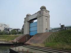 川崎河港水門(2009年6月13日)