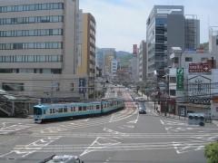 京阪京津線の見どころはこの併用軌道