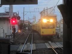 列車交換(すれ違い)