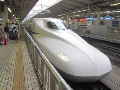 事件のあった東海道新幹線(同型車両)