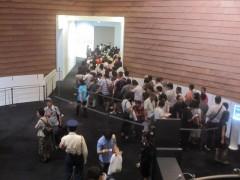 大混雑しているのは「ガンダム展」