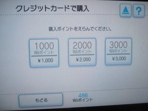 最低1000円から?(購入済みの画面)