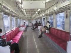 日立駅を過ぎたら、ガラガラ…