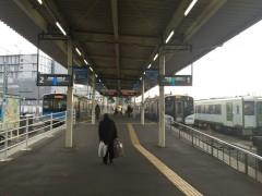 仙石線の石巻駅