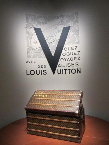 ルイ・ヴィトンの初期のトランク