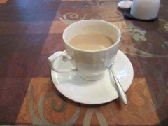 1杯のカフェオレ