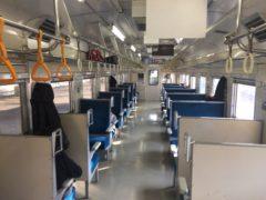 鉄道ファン以外、通しでの乗客はほとんどいなかった