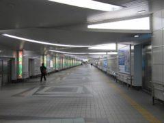 意外と地下鉄仙台駅まで遠い