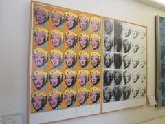 アンディ・ウォーホル「マリリンの二連画」