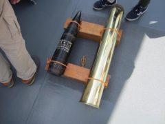 砲弾とダミーとの比較