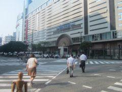 西鉄福岡(天神)駅外観