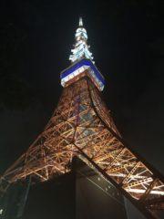 今年も東京タワーへ