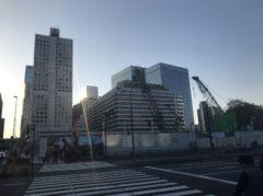 ここに高さ日本一のビルが建つ予定