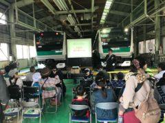 子供たちへの電車教室
