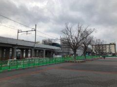 建設中の新駅