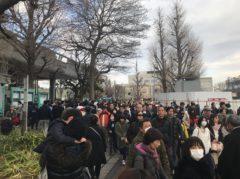 上野公園はやたらと混んでる