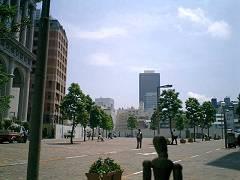 遠くに世界貿易センタービル