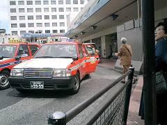 品川駅からタクシーに乗る