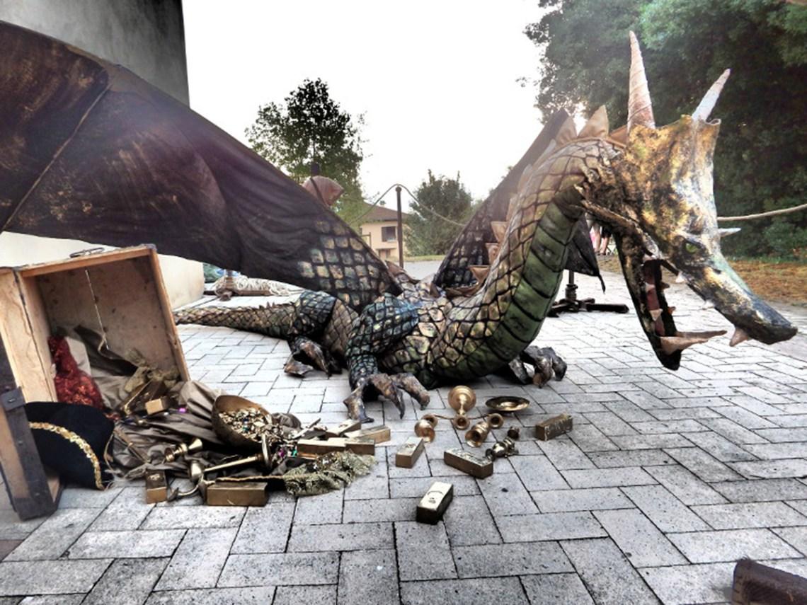 Audrey Vermont Plasticienne Dragon médiévale 2015
