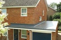 Garage Flat Roof Construction