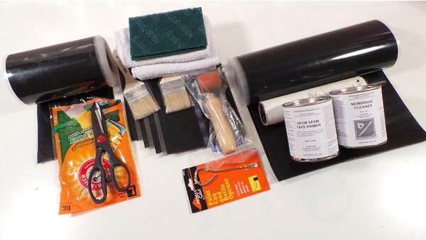 DIY Rubber Roof Repair Kit