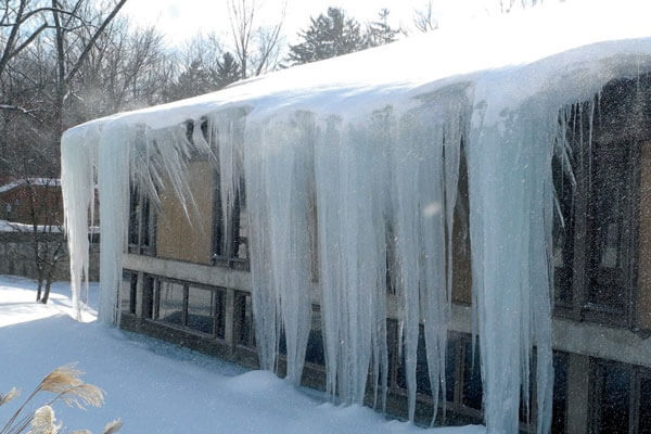 Holy Huge Ice Dams