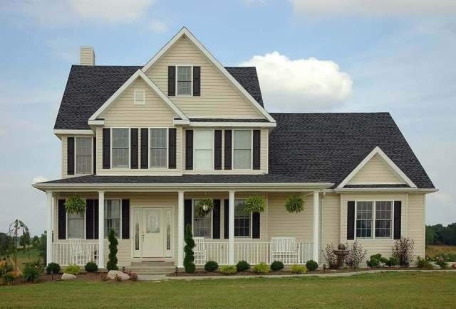 Combination Roof Type - a mix of Gable, Hips and Dormers