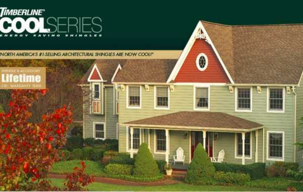 Timberline Energy Saving Shingles by GAF