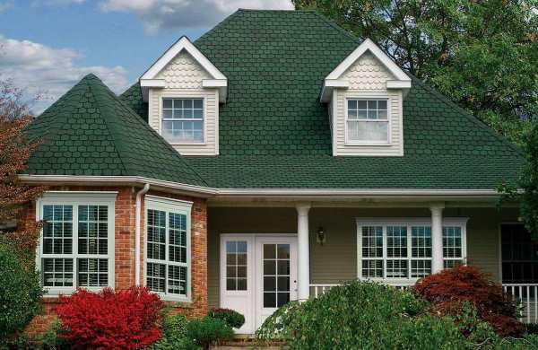 Architectural Roof Shingles by GAF, Country Mansion