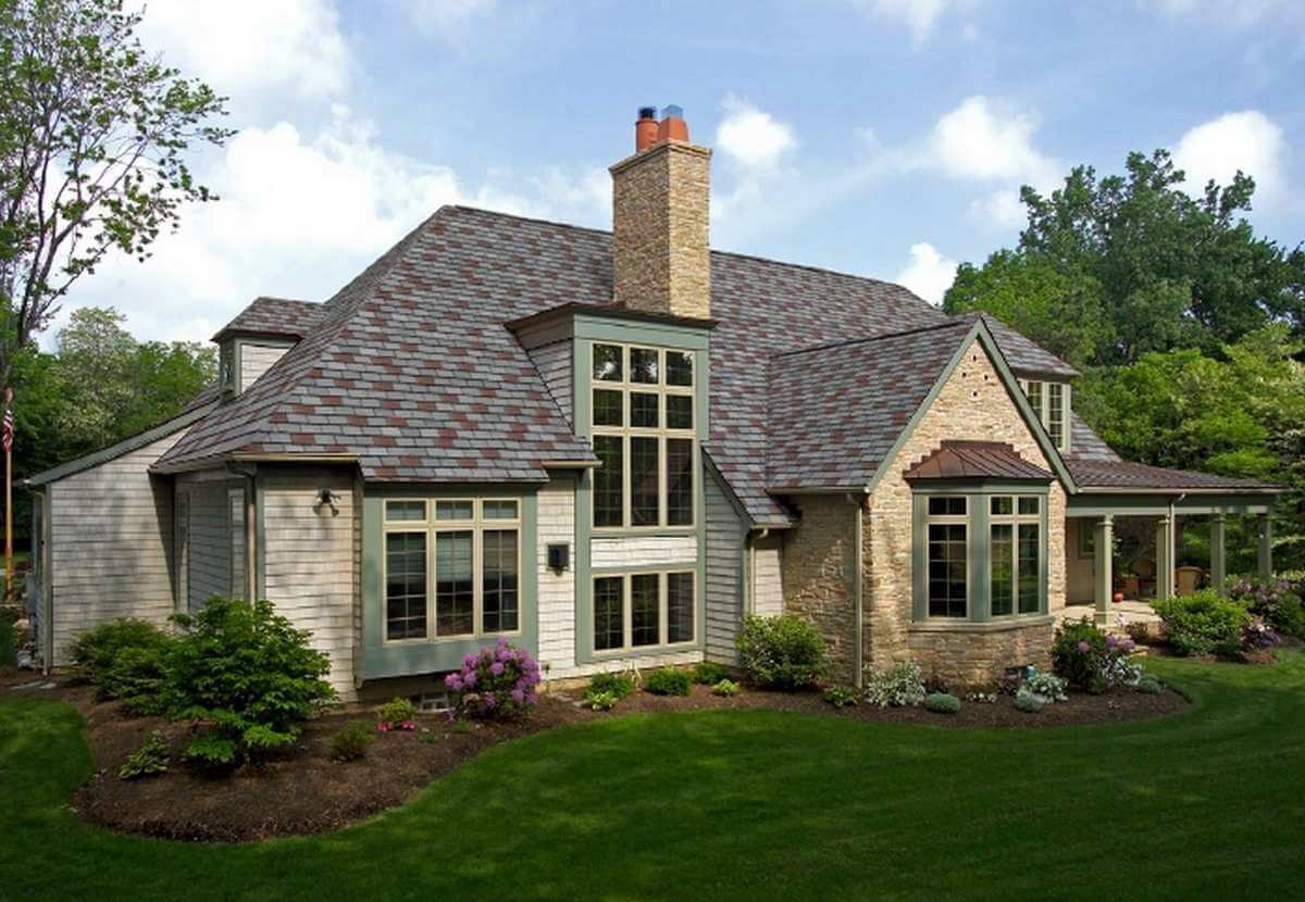 Roof Tile Stone Cottage