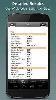 Roof-Calc-PRO-Screenshot-2-Detailed-Results