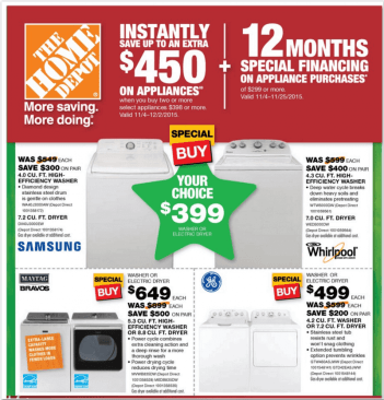 Home Depot Black Friday 2015 - 7
