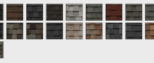 CertainTeed Landmark Colors