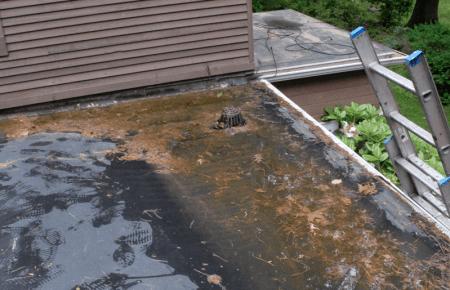 Flat Roof Leaking