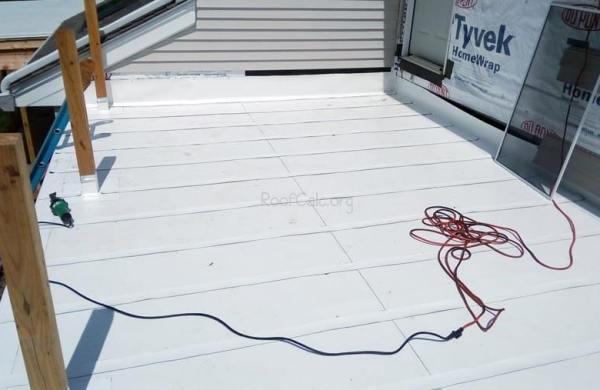 IB PVC Decking Material - Hopkinton, MA