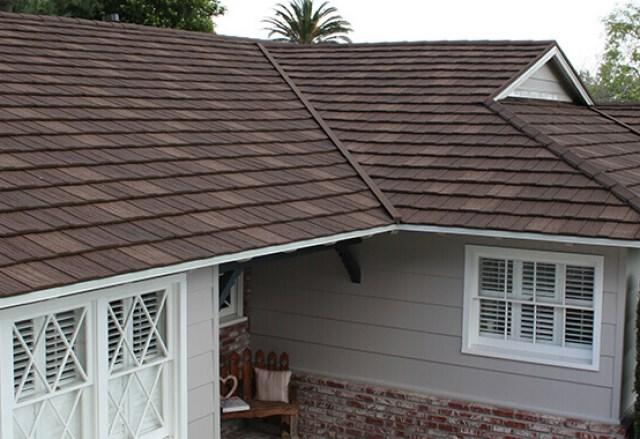 Metal Shake Shingle Roof